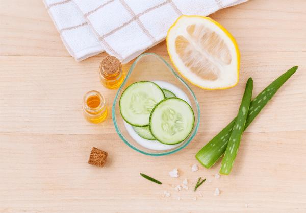owoce i warzywa w pielęgnacji skóry