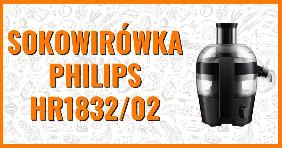 Sokowirówka Philips HR1832/02