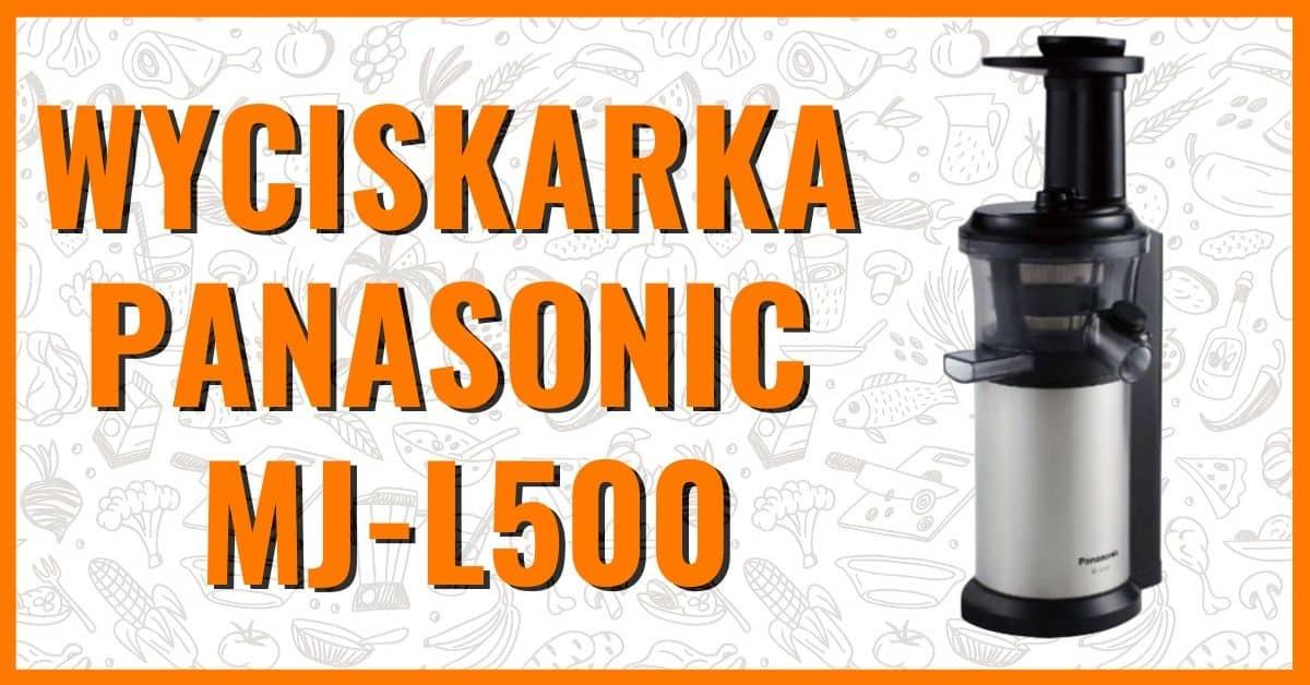 wyciskarka wolnoobrotowa pionowa Panasonic MJ-L500