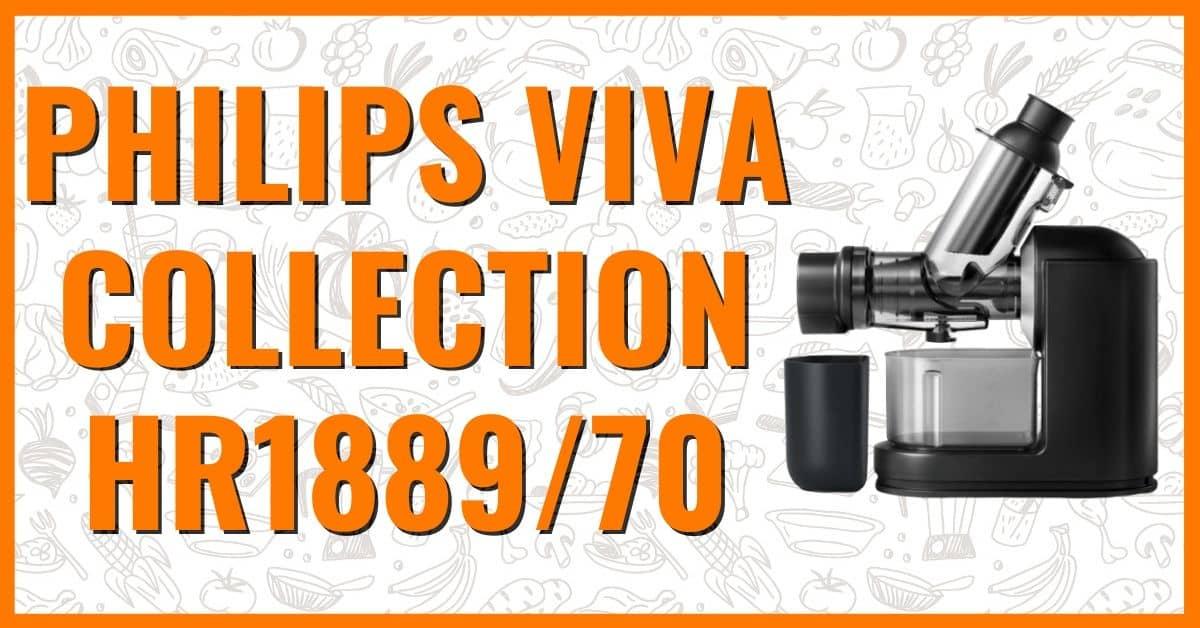 Wyciskarka wolnoobrotowa Philips Viva Collection HR1889/70 opinie