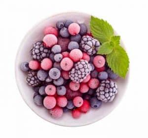 Mrożone owoce do blendera