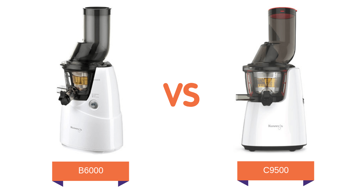 porównanie Kuvings B6000 z C9500