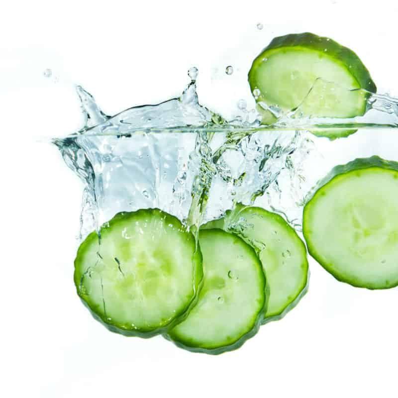ogórek naturalne źródło wody