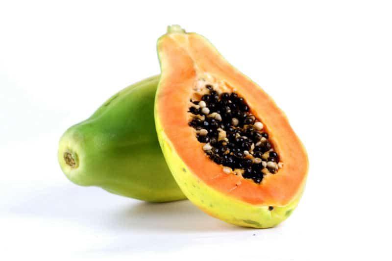 Skład owoc papai