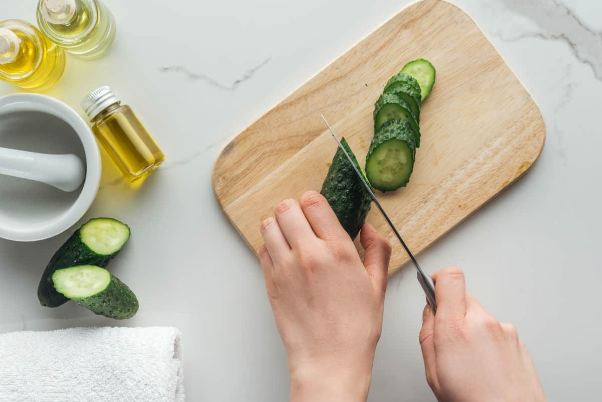 przepisy na świeże soki z zielonego ogórka