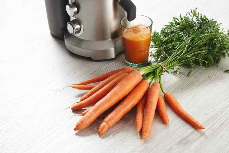 wyciskanie marchewki