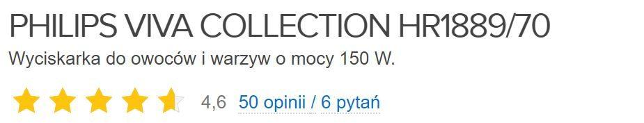 Wyciskarka Philips Viva Collection opinie użytkowników